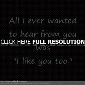 love relationships heart crush falling for you Quotes