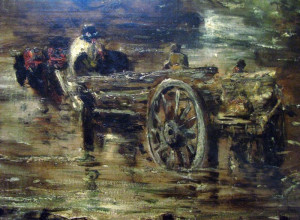 john constable study for the hay wain detail john constable the hay ...