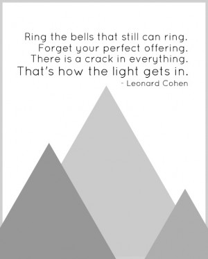 Leonard Cohen quote
