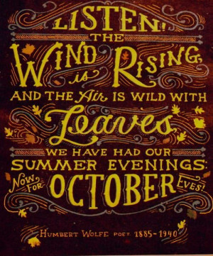 Thanksgiving, fall, autumn, quotes, sayings, humbert wolfe