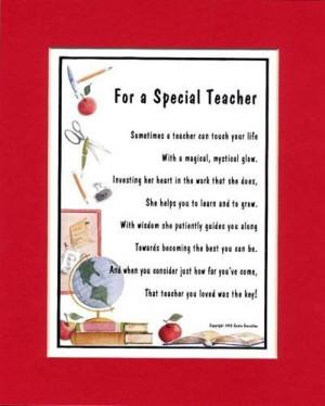 Search Results for: Kindergarten Teacher Poems
