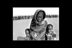 Parched Land, A Starving People