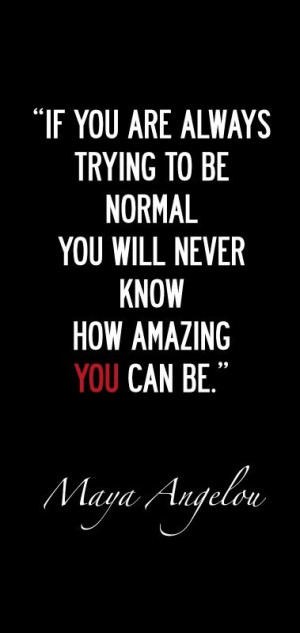 You are amazing! ;-)