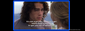 ledger quote 10 things i hate about you a knights tale the patriot ...