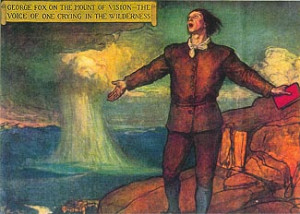 George Fox on the Mount of Vision