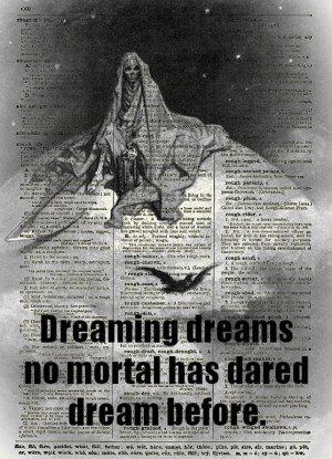 Death Depicted as the Grim Reaper on Top of the Moon from Edgar Allan ...