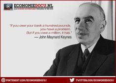 economic #quote by John Maynard #keynes . www.economiedocu.nl/ - # ...