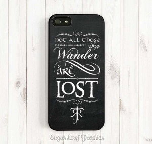 Tolkien Quote iPhone Case Tolkien Signature by SugarloafGraphics, $15 ...