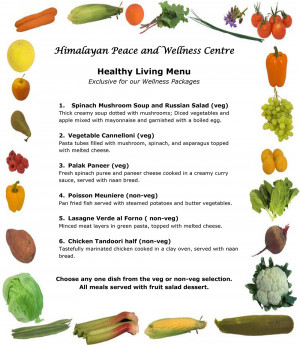 Check our HPW Healthy Living breakfast, lunch, and dinner menu at the ...