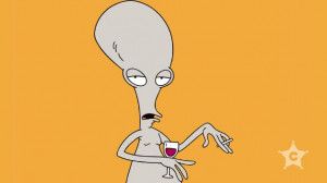 Roger The Alien American Dad By the alien sounds of