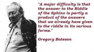 Gregory bateson famous quotes 5