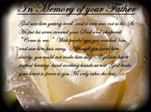 results for remembering dad poems thinking about dad and remembering ...