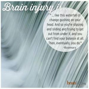 Brain injury is...