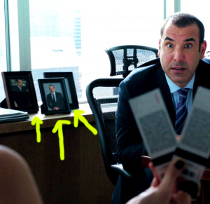 nostalgic-stargazer:Reasons Louis Litt is amazingRight?