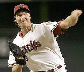 """Randy Johnson is considered to have the best """"slider"""" of all time ..."""