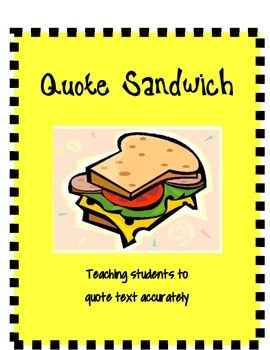 Quotes About Sandwiches. QuotesGram