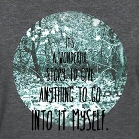 design inkheart quote women 39 s t shirt