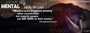 Mental Health Day Facebook Quotes