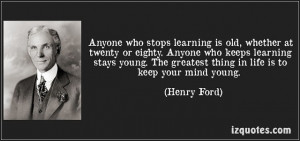 Quote For Today from Henry Ford