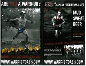 Warrior Dash Flyer