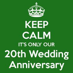 20th Wedding Anniversary Quotes For Husband ~ 20th Anniversary Wedding ...