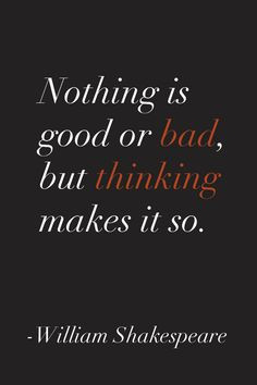 This quote was written exactly for Hamlet. Hamlet is an over thinker ...