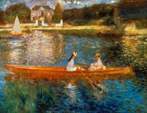 Pierre-Auguste Renoir, La Seine à Asniéres, 1879