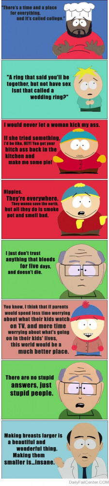 Home South Park Quotes Poster
