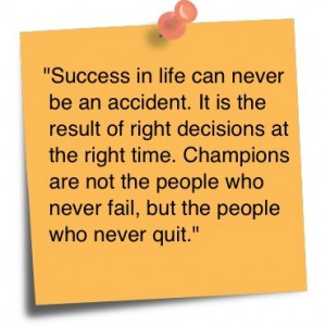 Famous Proverbs On Success Success in life can never be