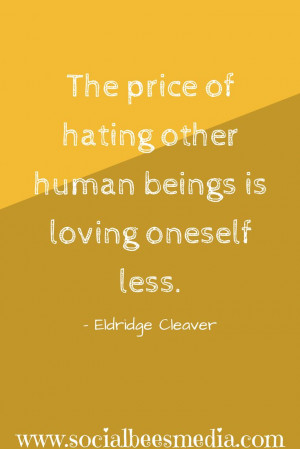Thought provoking quote from Eldridge Cleaver #quote