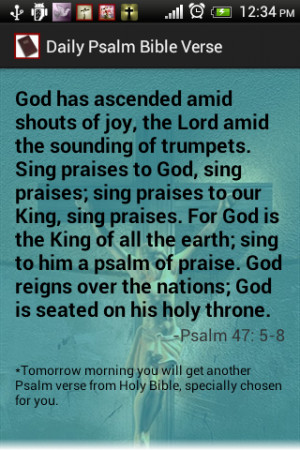 ... psalm bible quote app for listing quotes from bible our aim is to