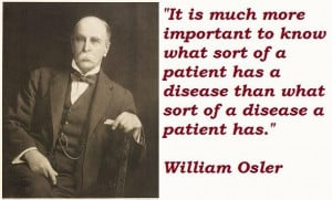 William osler famous quotes 2