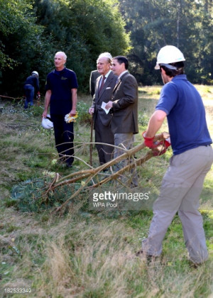 News Photo: Patron of the Conservation Volunteers Prince Philip Duke ...