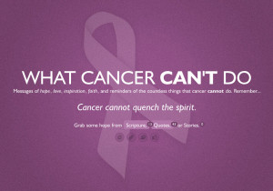 breast cancer quotes I have heard there are troubles of more than