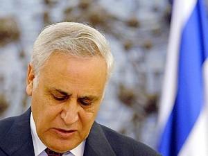 Moshe Katsav Xinhua