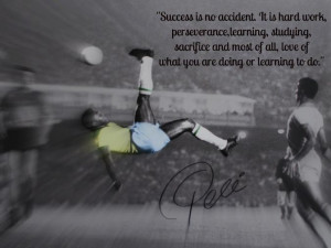 Success is no accident. It is hard work,perseverance,learning ...