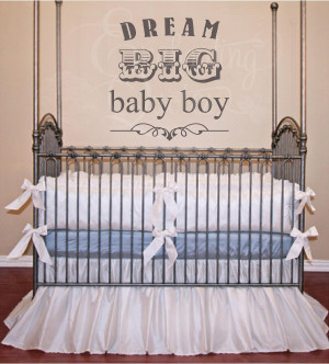 Nursery Wall Quotes | Baby Quotes for Boys