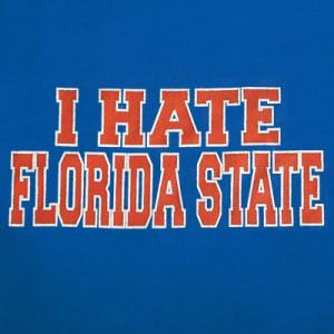 HATE FSU T-Shirt for Florida Fans