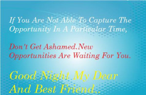 good night wishes for your best friends.