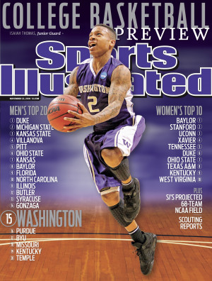 Isaiah Thomas (above) graces the regional covers of Sports Illustrated ...
