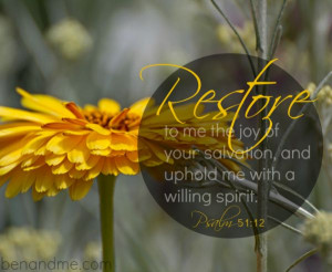 Restore: My word and Word for 2014 #oneword #word2014