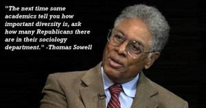 Very pertinent quotes from Thomas Sowell :