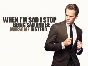 Barney Stinson, from How I Met Your Mother on CBS, lives by the same ...