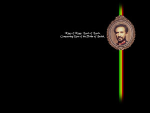 Jah Rastafari Haile Selassie Haile geeft hoop