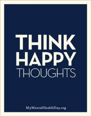 Thinking happy thoughts has the ability to reduce stress and anxiety ...