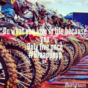 Girl Dirt Bike Quotes