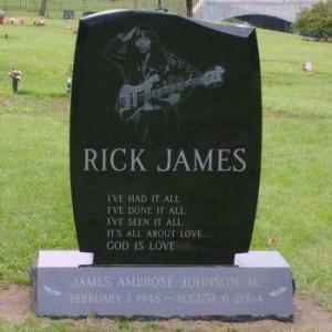 Rick James' Grave