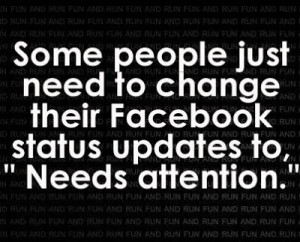 See 100 more really funny facebook quotes here