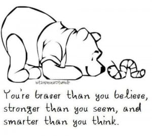 Winnie the Pooh #Believeinyourself Inspiration, Poohbear, Quotes, Pooh ...