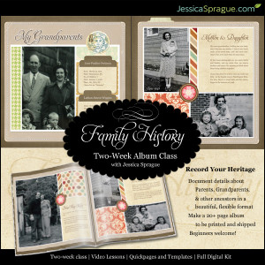 Gallery of Family History Quotes Scrapbook